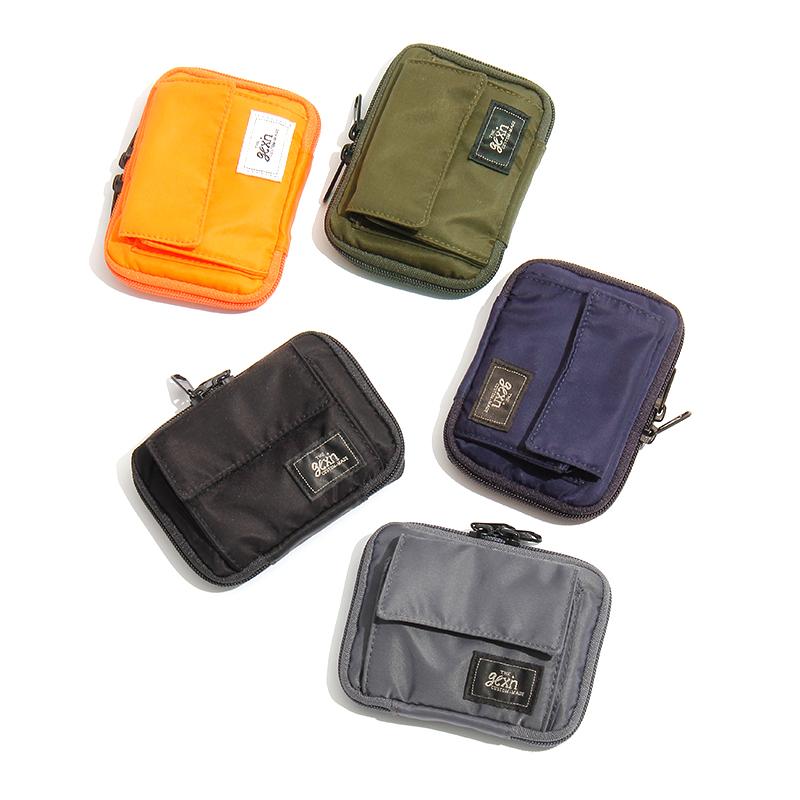Mens and womens Mini change Wallet Coin Bag short small wallet key bag nylon small bag bank card bag personalized fashion card