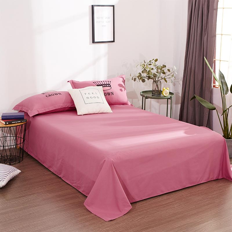 床单单件男女学生宿舍单人被单简约网红双人床单1.2/1.5m/1.8米床满38.00元可用15.2元优惠券