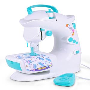 新款大号儿童缝纫机玩具 仿真女孩益智小家电套装过家家女孩玩具