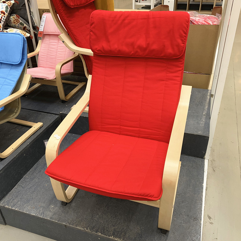 Genuine IKEA domestic agent purchase furniture special price of Boan single sofa outdoor balcony leisure chair armchair