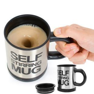 Автоматическое перемешивание кружка кофе и перемешать чашку кофе Мини творческих кофе Кубок