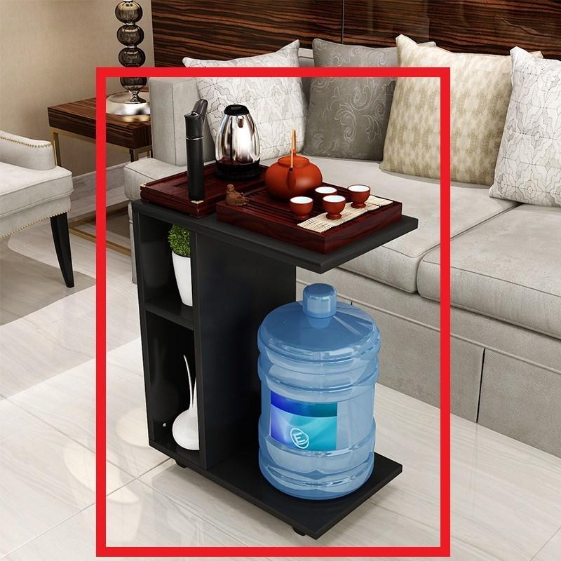 家用移动式泡茶休闲可折叠沙发边迷你小茶几可移动实木茶桌简约多