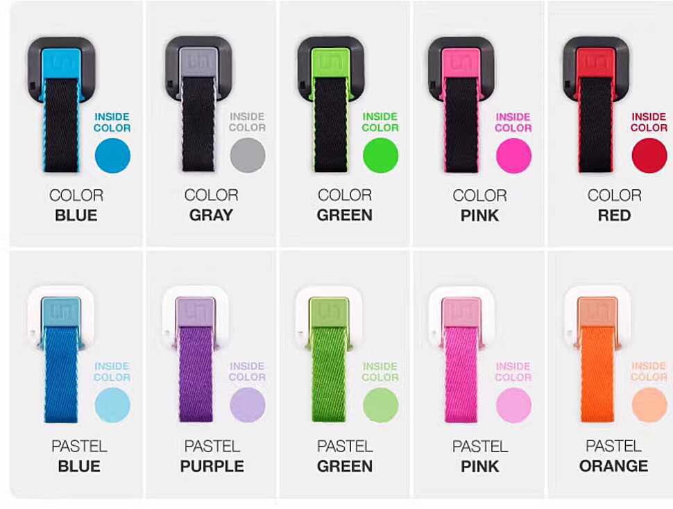 Ungrip mobile phone ring buckle mobile phone strap back sticker gift Apple Samsung Huawei mobile phone cloth ring buckle