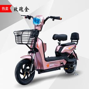 踏板电爱玛aima新款真空胎电动车