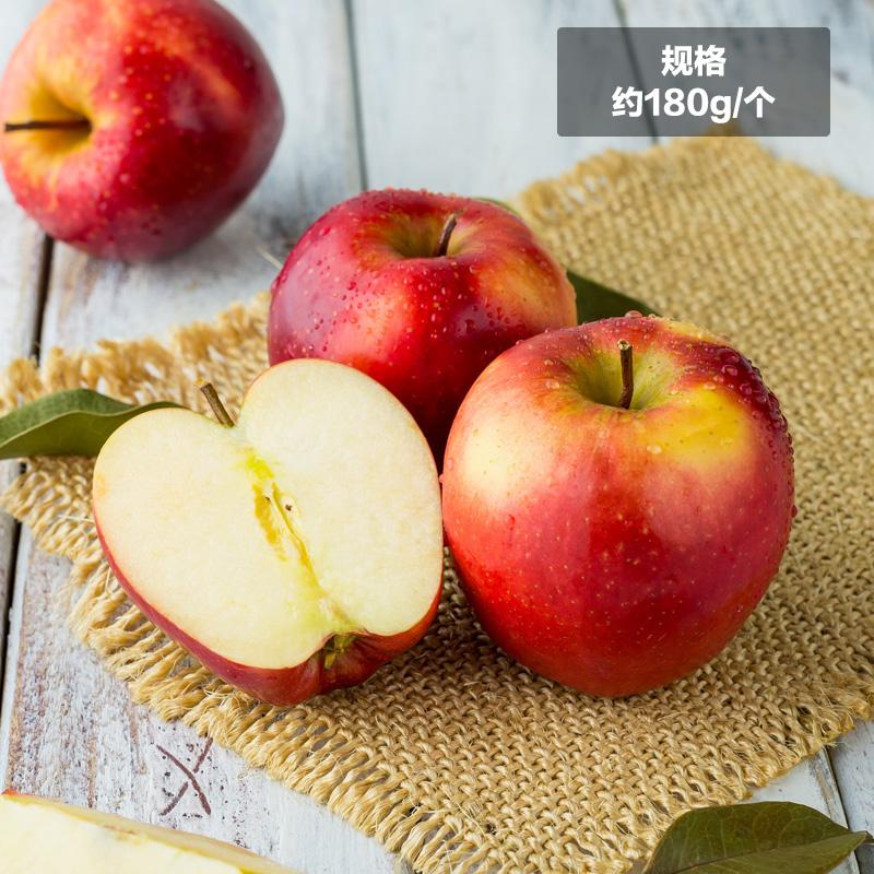 ~天貓超市~新西蘭紅玫瑰蘋果Queen4個約180g 個水果
