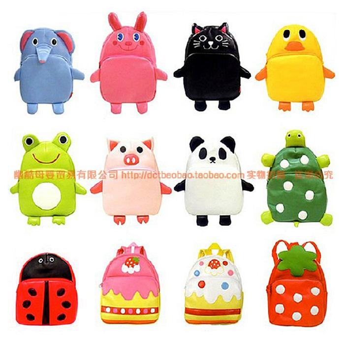Линда ребенок сумка новый детский сад корейских детей мультфильм животных рюкзак для мужчин и женщин