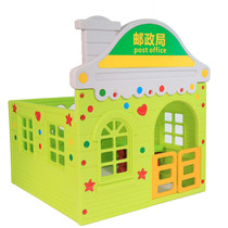 Kindergarten children Toy Simulation home toy plastic Doll Family Game House role playing house toys