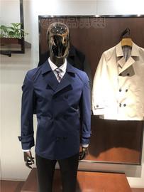 品牌新款 男士大翻領風衣休閑外套上衣微彈時尚商務修身3980元3色圖片