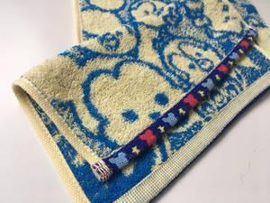 全棉卡通活性印染提花手巾20汗巾