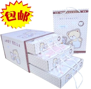 Warm clothes newborn baby gift boxes cotton baby three drawer Clothing Products