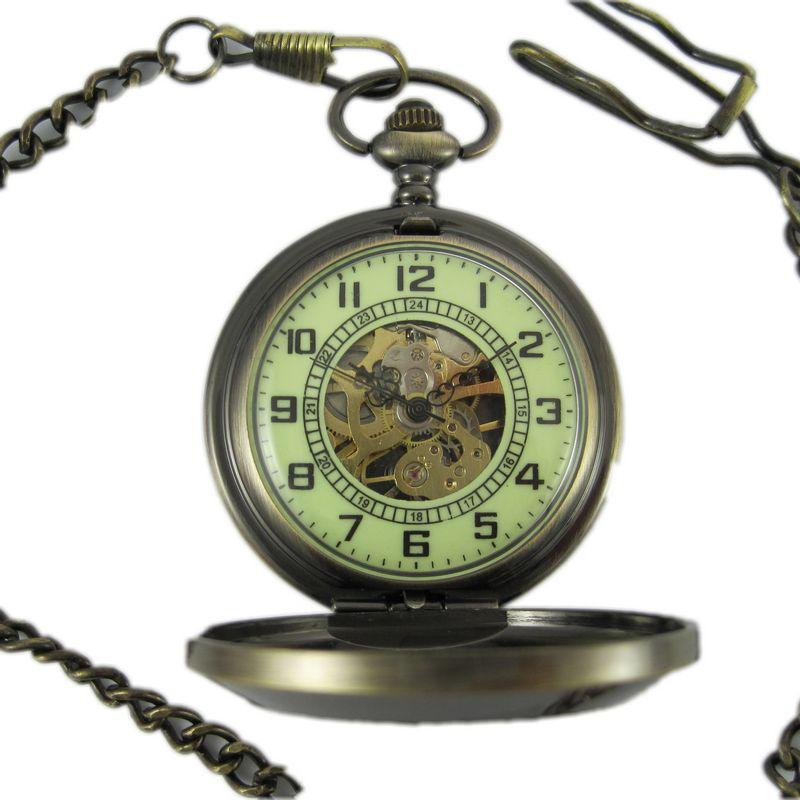 記念懐中時計カスタム機械懐中時計.男性女性用時計.レトロレトロ腕時計中性腕時計二工場産