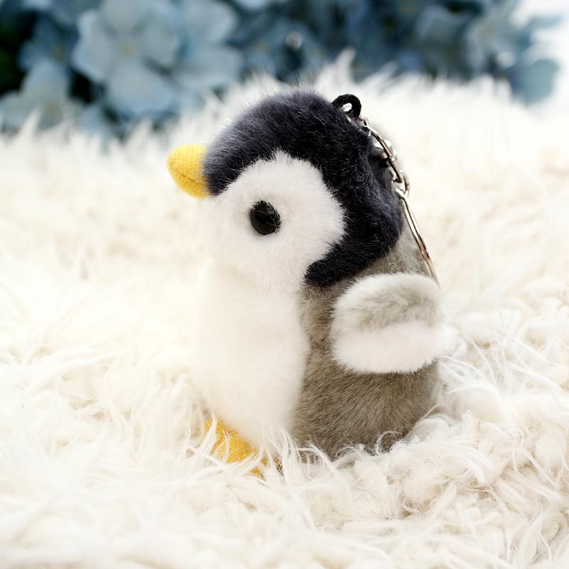 小企鹅钥匙扣挂件毛绒玩具公仔婚庆抛洒公司活动礼品企鹅玩偶