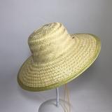 男士钓鱼草帽大沿竹编遮阳防晒帽男女采茶务农太阳帽古镇装饰帽子