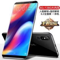 手机一体指纹学生老年人全屏4G刘海屏超薄智能全网通移动联通电信