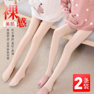 孕妇打底裤女外穿连裤袜怀孕期肉色丝袜秋冬加绒加厚裸感光腿神器