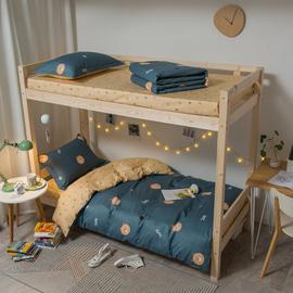 全棉宿舍学生床上三件套1.2m单人床单被套纯棉上下铺男生女生简约图片