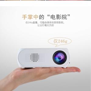 新款家用高清投影仪1080p 迷你微型家庭3D投影机安卓苹果手机wifi