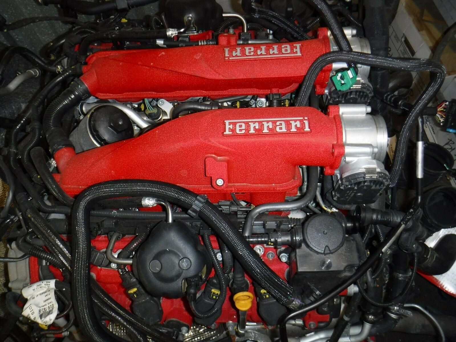 法拉利  Portofino 波托菲诺 3.9T V8 458 488 双涡轮 发动机总成