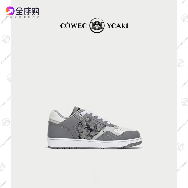 香港代购Cowec Ycaki板鞋2021新款休闲男鞋女鞋百搭潮拼色低帮鞋
