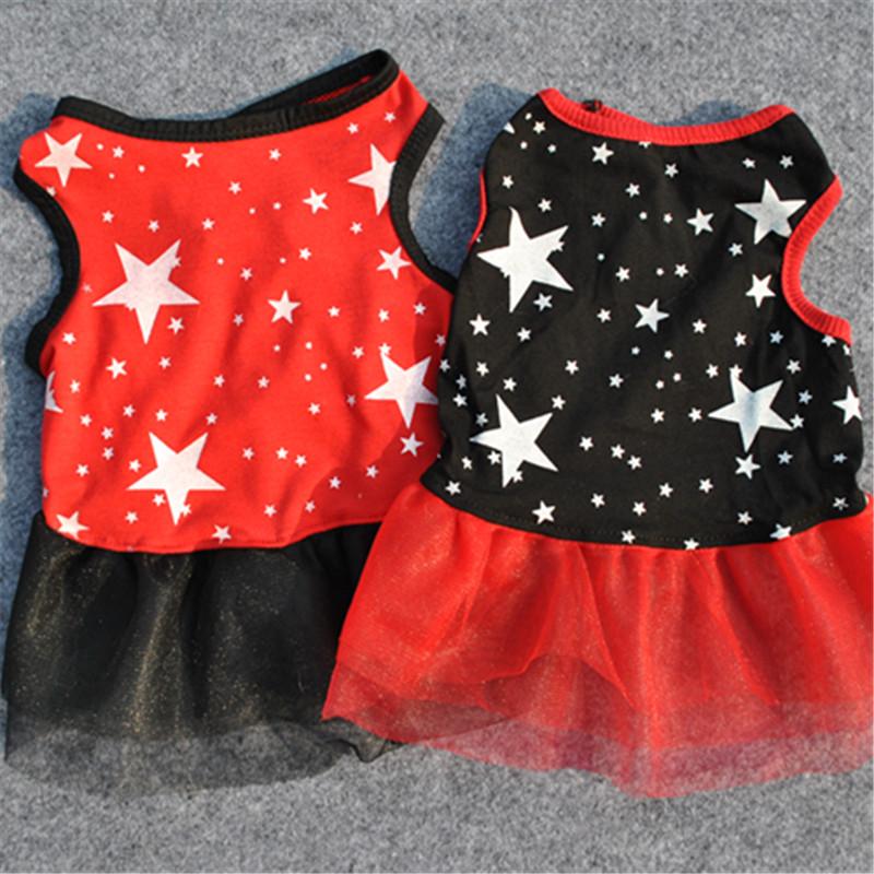 [Ding Dong] pet clothes pet clothes dog clothes summer dog beautiful skirt