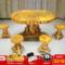典艺阁黄金樟根雕茶桌客厅实木餐桌树根茶几根雕休闲茶台新品包邮