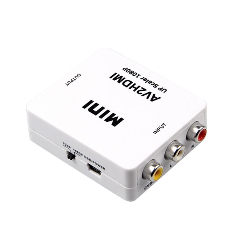 賽康 AV轉HDMI轉換器色差接口轉換線機頂盒接電視顯示器高清線