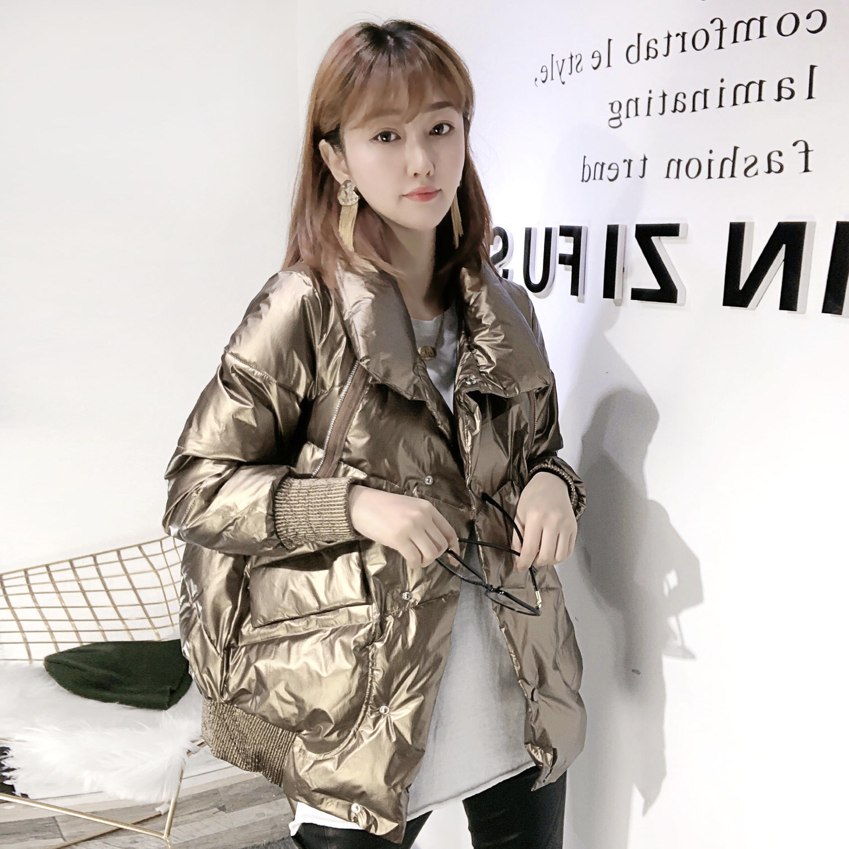 欧洲站冬装女2020新款韩版加厚羽绒棉服宽松bf时尚棉衣棉袄ins潮