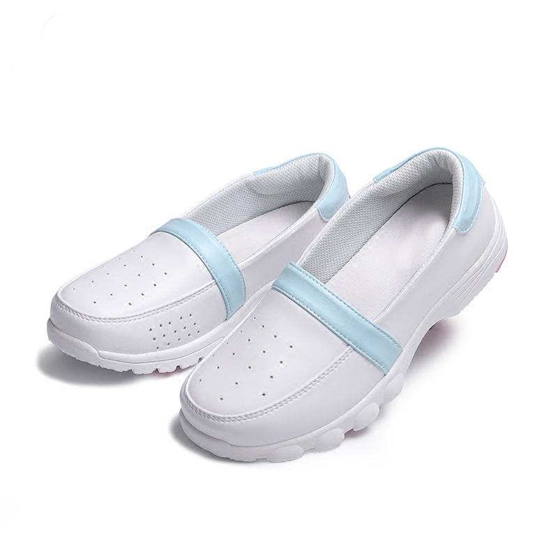 Sanbang Fara spring and summer new nurse shoes womens small white shoes leisure super light comfortable balance anti slip simple wear resistant