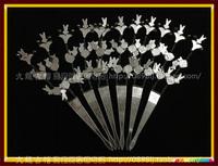 Хайнань Ли серебряные украшения один Вилка 6 / Филиал