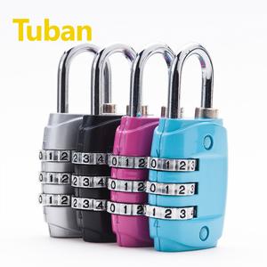 包邮密码锁箱包锁健身房行李旅行箱密码锁迷你箱包密码挂锁门锁