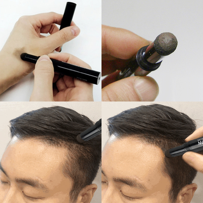 Men's Hairline Shadow Powder Modification and Contouring Chalk Reissue Salvation Retreat M High Forehead Artifact Filling Secret Hair