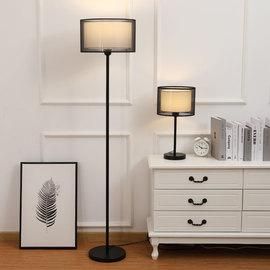 落地灯ins北欧创意个性简约现代卧室床头客厅沙发遥控LED立式台灯图片