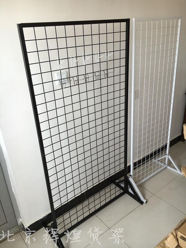 Вертикальная посадочная стойка для сетки Мобильная двухсторонняя проволока сетка Выставка выставочной экспозиции