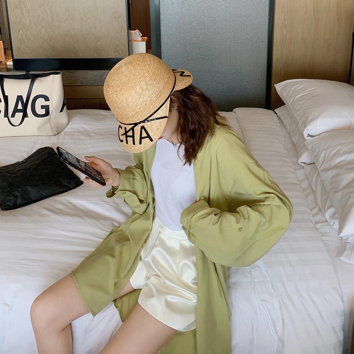 39.00元包邮网红吊带背心女外穿2019新款韩版薄款无袖t恤泫雅宽松V领内搭上衣