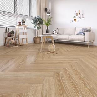 人字拼花强化复合地板北欧橡木环保防水地暖家用卧室鱼骨拼木地板