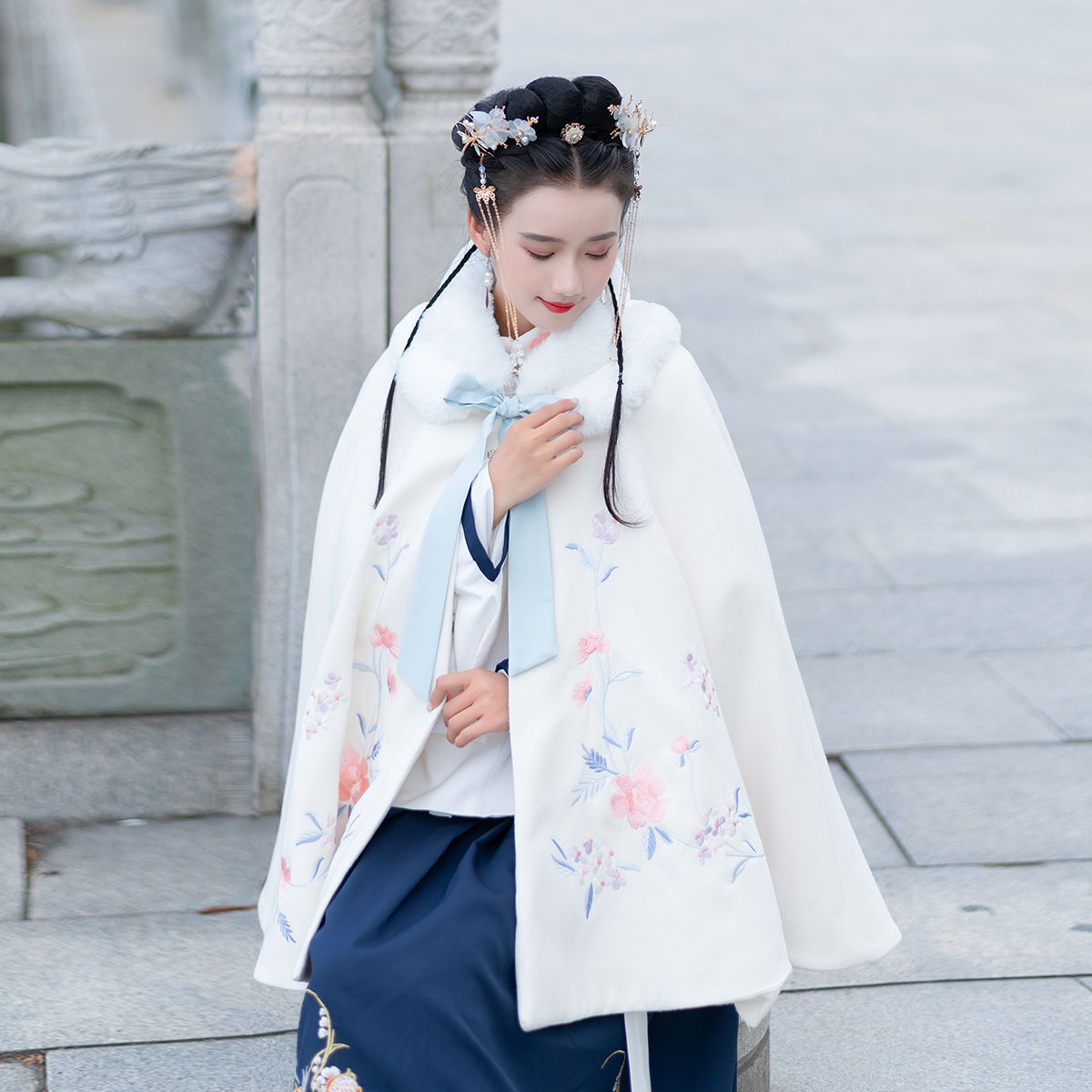冬季汉服女中国风学生仙女樱花超(用1元券)
