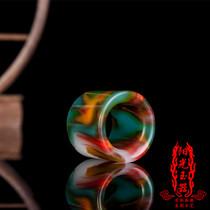白玉城新疆天然和田玉糖玉青花籽料手串手链手饰品时尚百搭珠宝