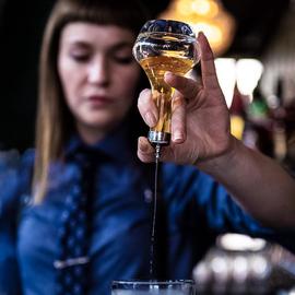 酒吧传奇 日式苦精小瓶 苦艾酒瓶药酒瓶 苦精玻璃瓶Bitter Bottle