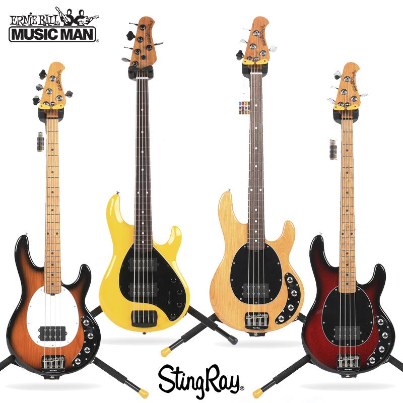 美产MUSICMAN STINGRAY 4/5H五弦电贝司主动BASS摇滚低音贝斯吉他