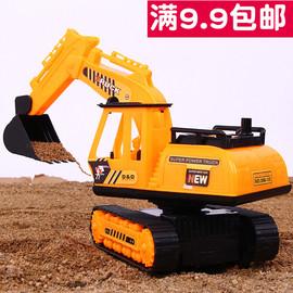 儿童玩具车男孩勾机挖土车新款小号惯性工程车挖机挖掘机2-3-4岁图片