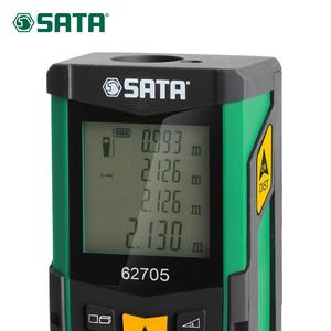 世达测量工具红外线手持激光测距仪60米-80米电子尺米量房仪62704