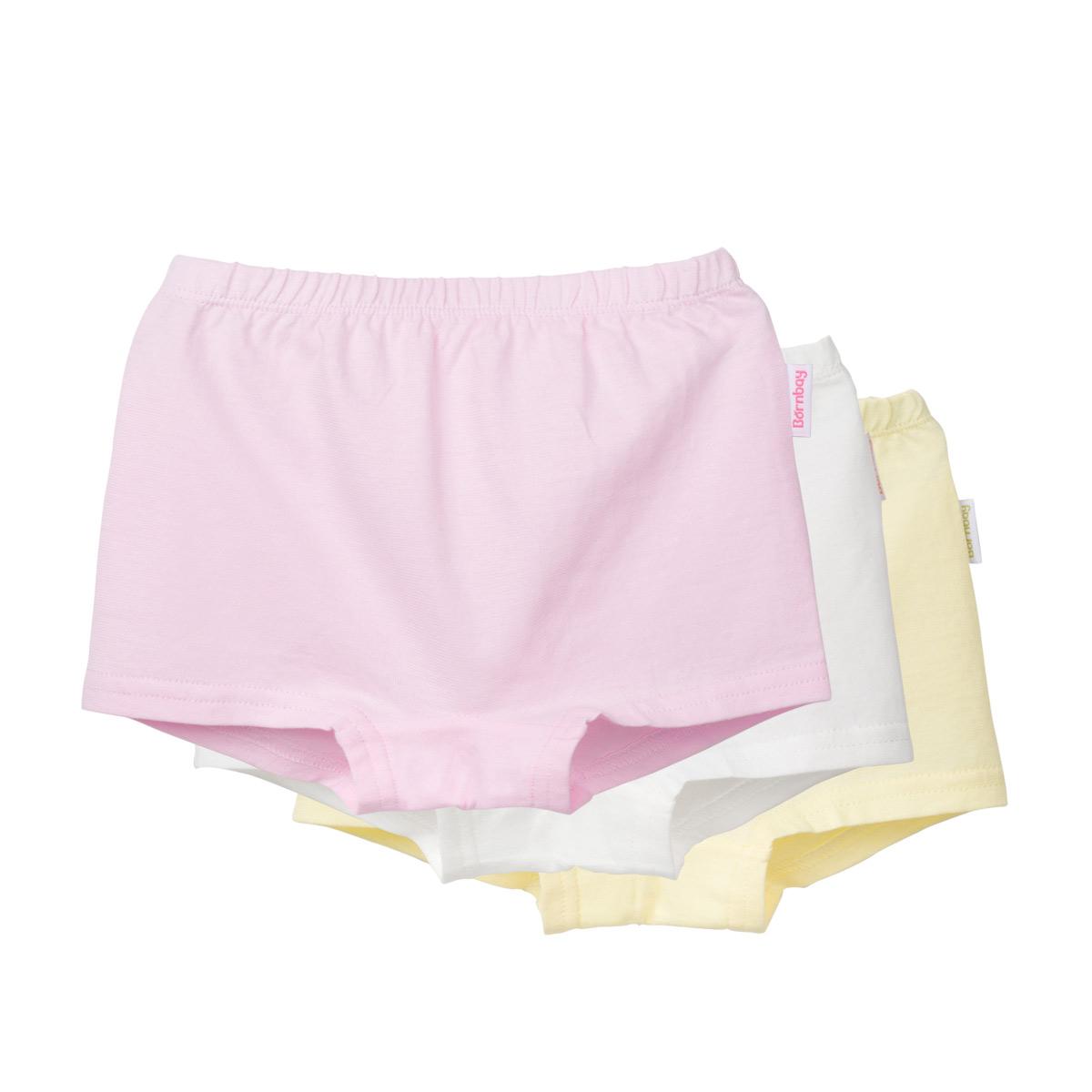 貝貝怡嬰兒素色內褲男女寶寶純棉平角內褲兒童衣服^(3條裝^)BB9016