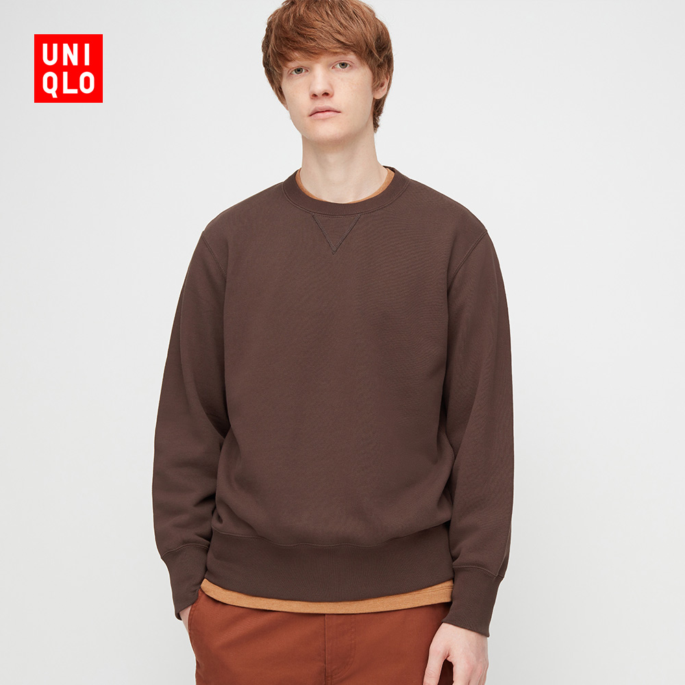 Uniqlo Men's/Women's Sweatshirt (Long Sleeve) (Sweatshirt) 429159 UNIQLO