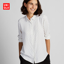 Women's Printed Shirts (Long Sleeves) 420845 Uniqlo