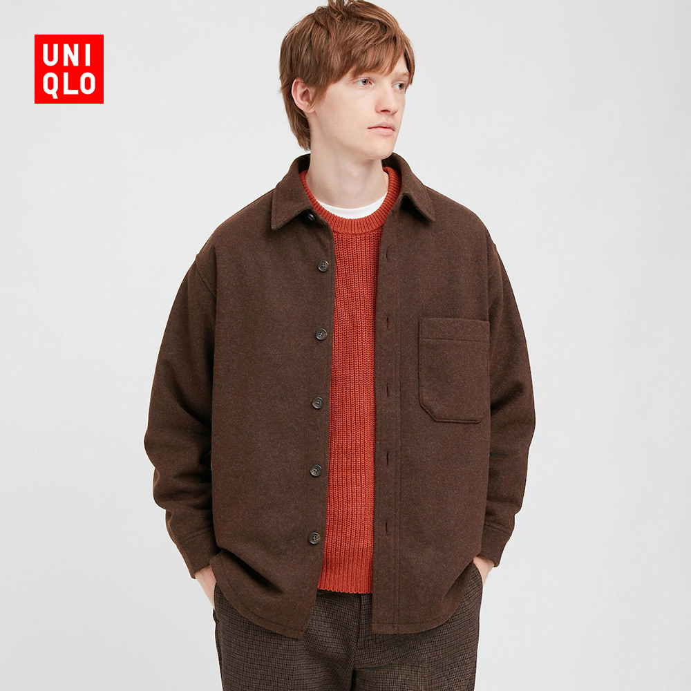 Uniqlo men's/women's shirt jacket (outer) 428994 UNIQLO