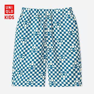 Ребятишки / мальчиков  (UT) DPJ MICKEY BLUE легкий хлопок теснота шорты  412701 отлично одежда склад