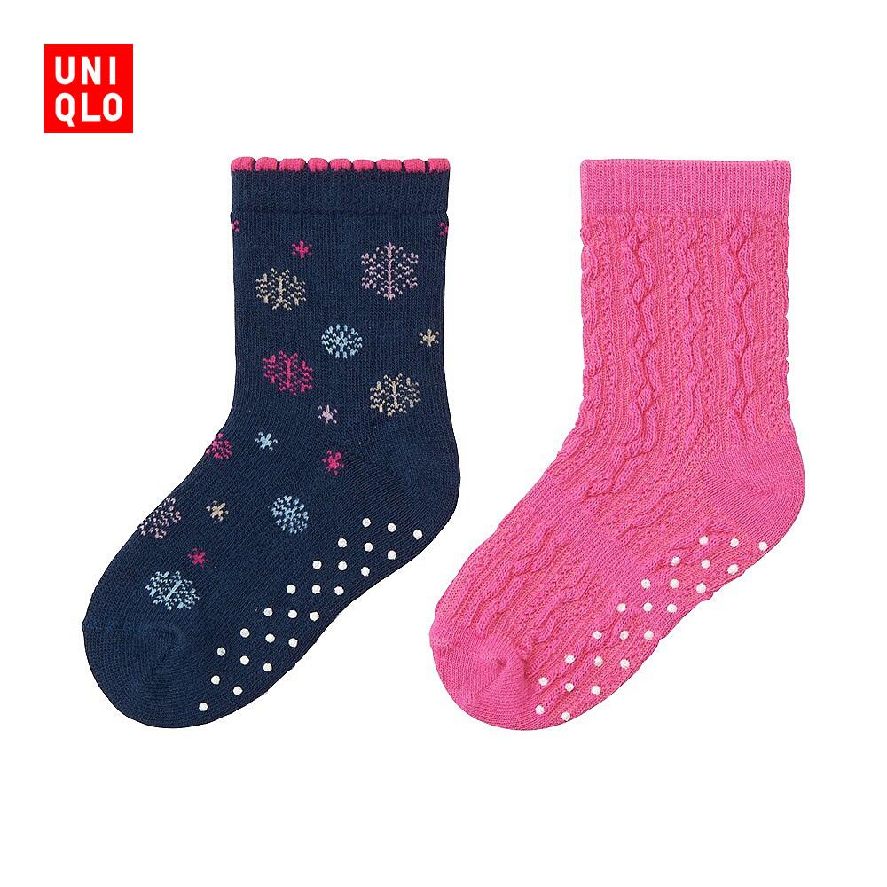 嬰兒 幼兒 襪子^(2雙裝^) 180995 優衣庫UNIQLO