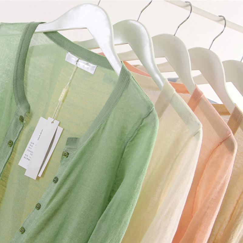 大码针织空调衫开衫女夏季薄款防晒衣200斤胖mm宽松短款亚麻外套