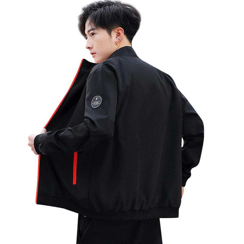 祖玛珑外套男装上衣韩版潮男棒球服春季新款男士运动休闲机能夹克