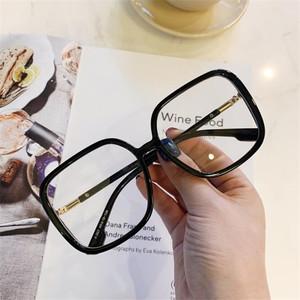 新款儿童韩版大框平光镜女孩装饰眼镜潮